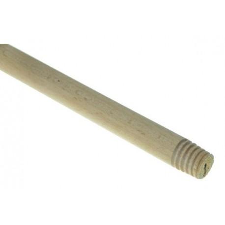 Kij drewniany 120 cm z gwintem, trzonek
