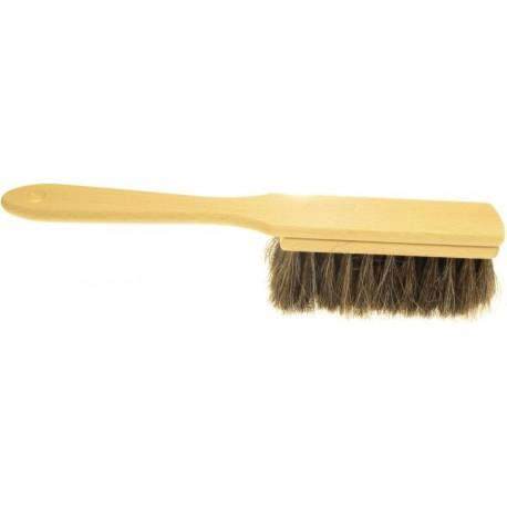 Zmiotka drewniana z naturalnego włosia końskiego