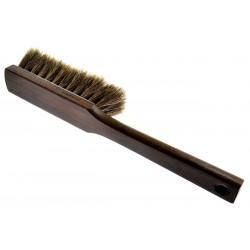 Zmiotka ręczna naturalne włosie końskie kolor ciemny brąz