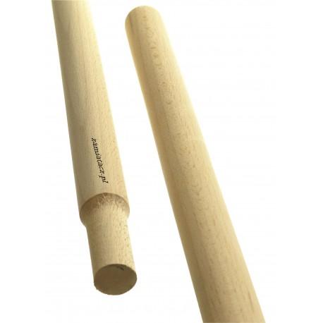 Kij drewniany 130 cm do ulicówki GRUBY