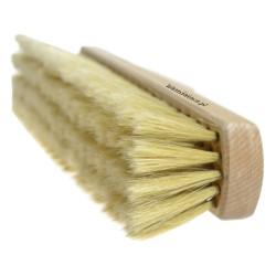 Miotła do zamiatania 40 cm z naturalnym włosiem szczecina