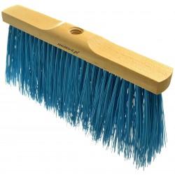 Miotła ulicówka 30 cm z długim włosiem i gwintem