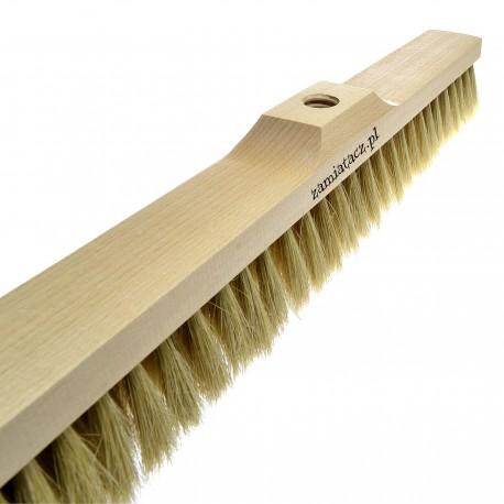 Miotła do zamiatania 60 cm z naturalnego włosia
