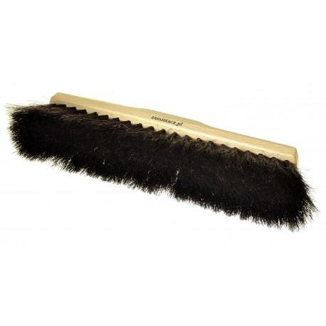 Miotła do zamiatania 40 cm z prawdziwego włosia końskiego